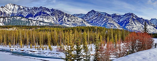 Mount Ishbel, Bow Valley (1/2), Canada (j.canada) blue trees winter sky mountain lake snow canada nature water colors zeiss creek river landscape view sony ab panoramic louise alberta carl translucent rockymountain banff alpha za f28 slt nationalgeographic banffnationalpark castlemountain 2470mm bowvalley variosonnar a99 mountishbel sal2470z zeiss2470f28 variosonnart28222470