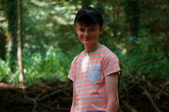George (Lgh95) Tags: portait aperture blur grey orange green forest tree trees greenery lydiard park swindon west smile f45 sony nex 3n 3 camera compact system