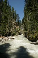 Johnston Creek (Stefan Jrgensen) Tags: johnstoncanyon johnstoncreek banffnationalpark alberta canada 2013 sony dslra700 a700 water river creek trees