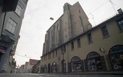 Augsburg I: Barferkirche (Etzadle) Tags: deutschland schwaben augsburg exakta barfserkirche kodakfarbwelt rolleidigibase