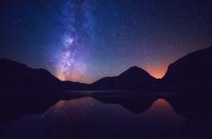 Soando despierto en el Lago Enol (Toni DPZ) Tags: vialactea enol covadonga onis picosdeeuropa asturias lagos porradeenol night nocturna stars milkyway spain montaas mountains sagitario escorpio
