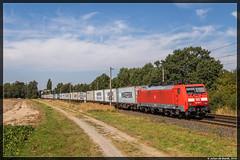 26-08-16 DB Cargo 189 001 + containertrein, Woltorf (Julian de Bondt) Tags: db cargo br189 189 woltorf peine