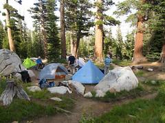 Sunrise Backpackers Camp (Mike Dole) Tags: johnmuirtrail yosemitenationalpark california sierranevada
