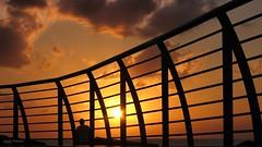 Neppure la notte pi buia impedir al sole di sorgere ancora (Angelo Trapani) Tags: palermo foroitalico alba sunrise molo mare cancellata sole giorno notte