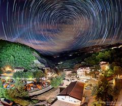 Komunalci (Boris Mrdja) Tags: komunalno becici boreti montenegro crnagora komunalci djubretari garbage truck yard stars startrail stacked hdr fisheye panorama panoramic night noc zvezde astro astronomy star