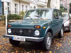 Lada Niva 2121 (larssimon) Tags: berlin kantensteinlegende youngtimer oldtimer ladaniva2121 lada2121niva was2121 1976 udssr