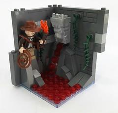 Minifig Habitat: Indiana Jones (Hendri Kamaluddin) Tags: lego moc minifighabitat road2muri indianajones adventure