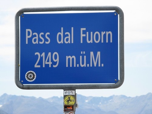 Pass dal Fuorn--2149 meters