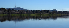 Lake Burley Griffin, Canberra (enjosmith) Tags: canberra lake burleigh griffin reflection blue sky blackmountain tower australia