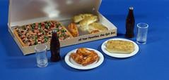 Dsc05046 (GreenWorldMiniatures) Tags: handmade 16 playscale miniature food pizza polymerclay greenworldminiatures barbie