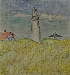 Lighthouse (BKHagar *Kim*) Tags: bkhagar moms art artwork drawing scribble color pencil pencils bettyhardage artist