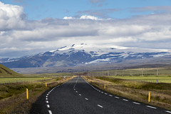 Route one with Eyjafjallajkull in the background (Hubert Streng) Tags: iceland eyjafjallajkull volcano route one