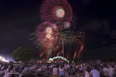 (shin4433) Tags: fireworks japan  night view nikon d500 tokina sky beautiful landscape august20