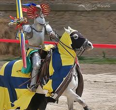 chevalier (laurek.photography) Tags: chevalier knight cavalier horse cheval puy du fou vendee france vendée lance medieval