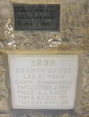 Old Taylor County Agriculture Building Cornerstone (Abilene, Texas) (courthouselover) Tags: texas tx taylorcounty abilene texaspanhandleplains westtexas