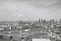 London (goodfella2459) Tags: nikon f65 ilford pan f plus 50 35mm black white film analog london eye thames st pauls river milf