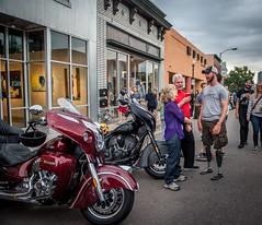 (veteransrideusa) Tags: indianmotorcycle amputee artwalk denver downtowndenver general inidan major veterans veteranscharityride