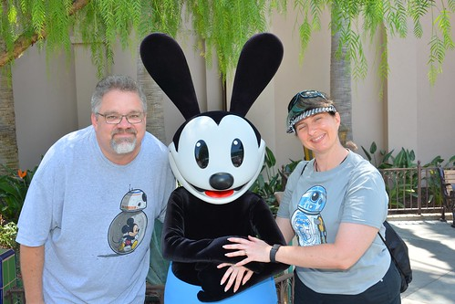 "Tracey, Scott and Oswald the Lucky Rabbit • <a style=""font-size:0.8em;"" href=""http://www.flickr.com/photos/28558260@N04/29123375332/"" target=""_blank"">View on Flickr</a>"