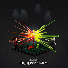 Harry Potter and the Goblet of Fire 27 (Xenomurphy) Tags: lego moc bricks harrypotter gobletoffire rowling muggle magic weasley hermione malfoy voldemort hogwarts hogsmeade slytherin hufflepuff gryffindor ravenclaw quidditch