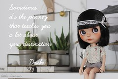 #Sometimes (Little Dreams ) Tags: sometimes thoughts quotes destination doll blythe inspiring
