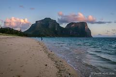 Sunset wander (NettyA) Tags: lordhoweforclimate 2016 australia janetteasche lhi lordhoweisland mtgower mtlidgbird nsw thelagoon unescoworldheritage beach day4 sunset