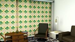 18pp (MidCenturyStyles) Tags: surfacepattern surfacepatterndesign unusual unconventional interior interiordecoration interiordesign interiorinspiration