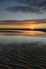 Mablethorpe Sunrise (John__Hull) Tags: breath taking mablethorpe east coast england seascape ripples sunrise sun clouds reflection nikon d3200 sigma 1020mm nd filter view nature