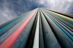 Looking to the sky (tristan.serobac) Tags: moretti ladefense urbanism architecture sky art paris outdoor building