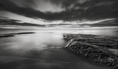 Fade to Black (Elidor.) Tags: bamburgh northumberland elidor d90 le northeast coast clouds