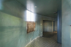 Taken Through a Dirty Window (penfoto) Tags: 2013 california downey rockwell abandoned