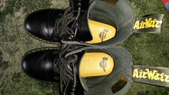 20160612_165909 (rugby#9) Tags: drmarten boots icon size 7 eyelets doc docs doctormarten martens air wair airwair bouncing soles original 10 hole lace docmartens dms cushion sole yellow stitching yellowstitching dr comfort cushioned wear feet dm 10hole black 1490 indoor footwear shoe boot
