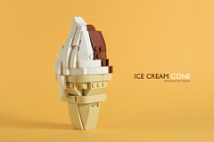 nEO_IMG_DOGOD_ICE CREAM CONE_03 (DOGOD Brick Design) Tags: brick lego moc toy taiwan taipei ice cream cone