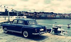Old Mercedes (carbayonin) Tags: principadodeasturias mercedesbenz luanco carbayonin vacaciones verano car cochesclsicos isaacgarciagordon marcantbrico huawei