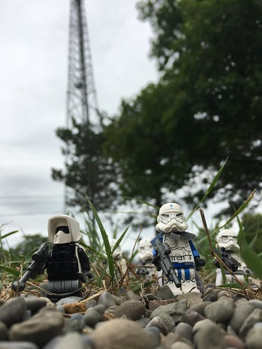 Defending an Imperial communications tower.