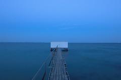 Changing room (A.Keskin) Tags: aarhus sea longexposure silky changingroom denmark seascape landscape