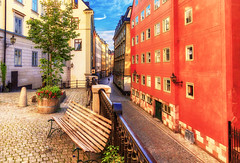 Morning Walk (NorthFla) Tags: stockholm gamlastan sweden sverige oldtown architecture city cityscape