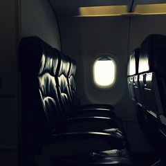 Bye Bye (l LIGHT l) Tags: light sunlight apple window leather last plane airplane chair warm aircraft seat flight row airasia ipad