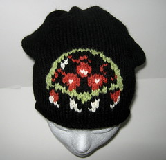 Metroid hat (doctormoo) Tags: winter hat clothing geek crafts nintendo knit toque clothes nes beanie tuque geekery metroid samus supermetroid