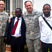 USARAF chaplains traveling contact team work with DRC counterparts