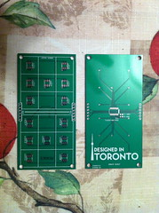 """Domino Clock PCB • <a style=""""font-size:0.8em;"""" href=""""http://www.flickr.com/photos/61091961@N06/8080145432/"""" target=""""_blank"""">View on Flickr</a>"""