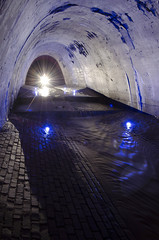 Peck's Run (randompkguy) Tags: lightpainting underground urbanexploration tunnels exploration sewer stormdrain culvert ue urbex draining urbanspelunking buriedriver urbancaving