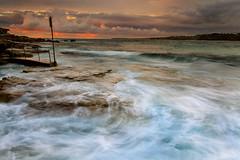 North Bondi Rocks Sunrise (sachman75) Tags: sea water coast rocks waves sydney australia coastal nsw newsouthwales bondibeach canon1740mmf4 northbondi canon5dmarkii leefiltersndstop3stops