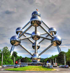 Belgio, Bruxelles, Atomium (forastico) Tags: brussels bruxelles atomium belgio d60 forastico nikonflickraward luckyorgood