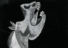 Picasso Black and White - Cabeza de Caballo