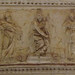 Detail of a Relief on the Ceiling inside the Lower Level of Bramante's Tempietto in Rome, June 2012