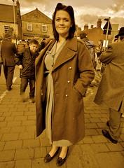 _DSC1550 Pickering War Weekend 2012 (94) (petelovespurple) Tags: costumes army 1940s ww2 pickering pww pickeringwarweekend