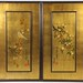 151. Pair of Large Decorative Asain Panels