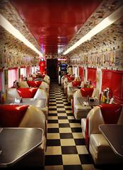 Rock & Roll Diner [Explored Oct. 17 2012 #296] (Luv Duck - Thanks for 15M Views!) Tags: explore oceano explored capismobeachrockrollcafedinertraincarscafe