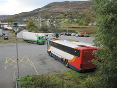 Portree (Inverness Trucker) Tags: truck linen lorry laundry delivery lf 55 fishers services daf daflf hx57evd fishersservices