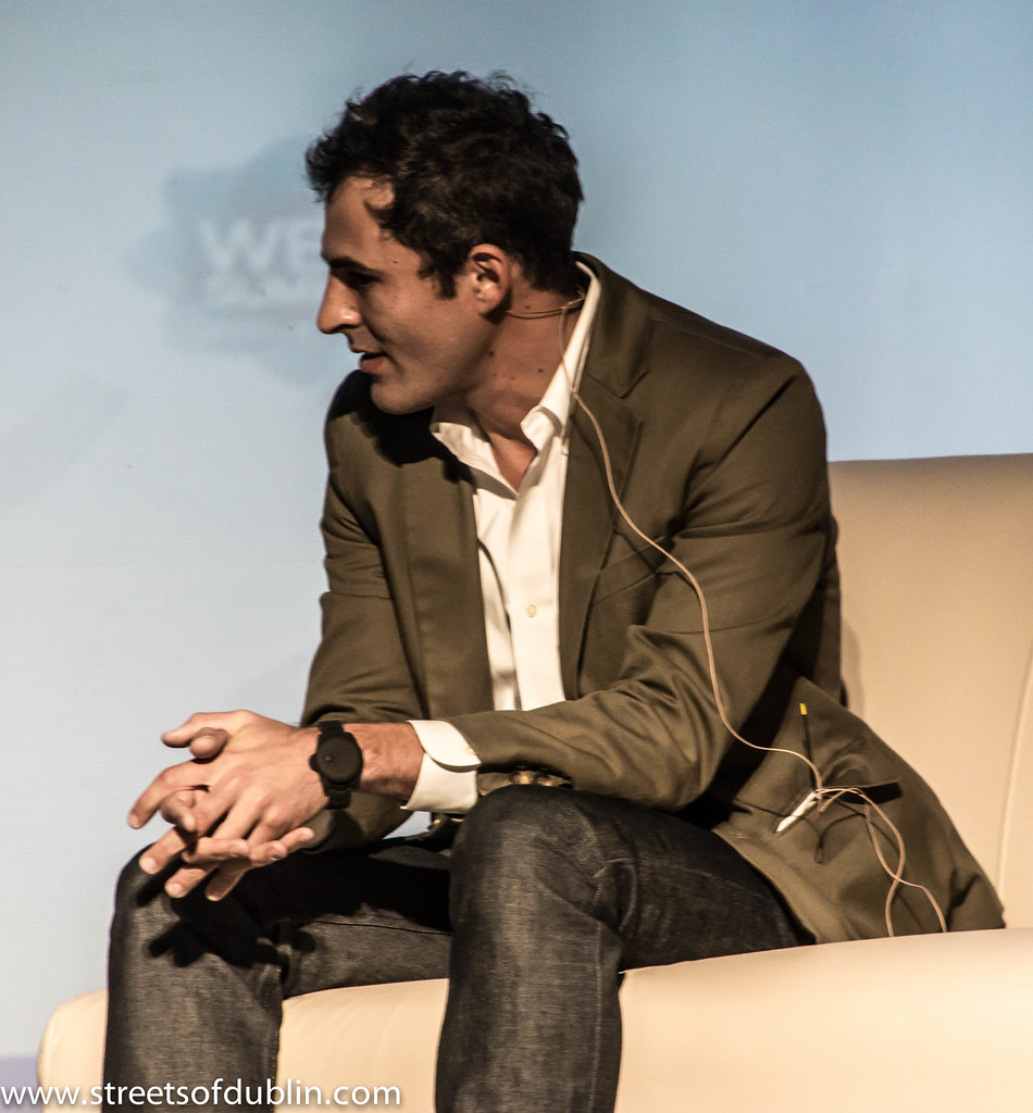 Paul Sciarra (Pinterest): Web Summit 2012 In Dublin (Ireland)